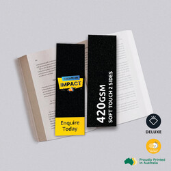 420gsm Artboard Soft Touch Two Sides Bookmarks